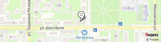 Невская Оптика на карте Новомосковска