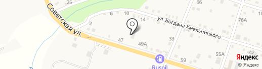 Ахтырский ветеринарный участок на карте Ахтырского