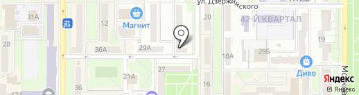 Прокуратура на карте Новомосковска