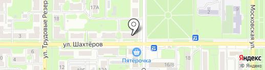 Теплотехника на карте Новомосковска