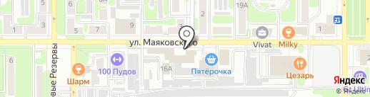 Мастерская по изготовлению памятников на карте Новомосковска