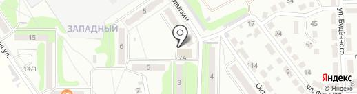 Городской родник на карте Донского