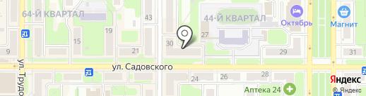 Альянс на карте Новомосковска