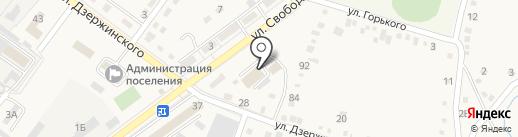 Супермаркет на карте Ахтырского
