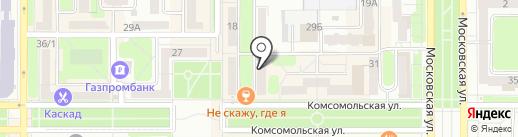 Нотариус Назарова Т.Е. на карте Новомосковска