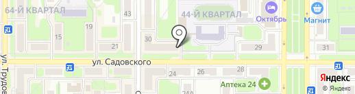 Банк ФК Открытие, ПАО на карте Новомосковска