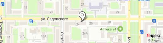 Дом универсал на карте Новомосковска