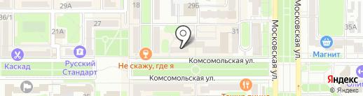 Туристическое агентство на карте Новомосковска