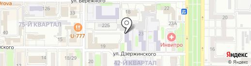 НИПК на карте Новомосковска