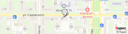 Сервис Плюс на карте Новомосковска