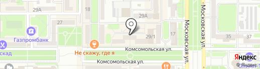 Balizza на карте Новомосковска