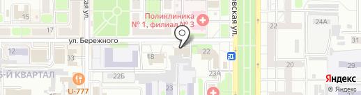 Росс-Тур на карте Новомосковска