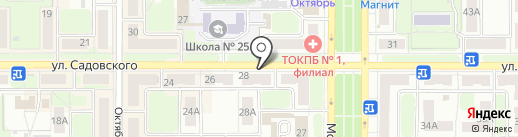 Фарт на карте Новомосковска