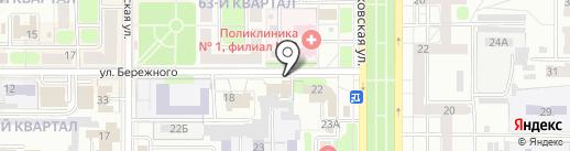 Витраж-сервис на карте Новомосковска