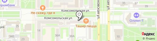 Super Star на карте Новомосковска