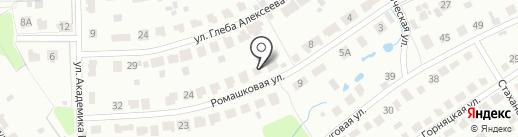 Возрождение на карте Новомосковска