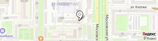 Магазин молодежной одежды и рок-атрибутики на карте Новомосковска