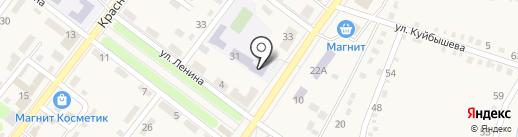 Средняя общеобразовательная школа №42 на карте Ахтырского