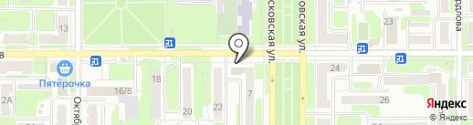 Старт на карте Новомосковска