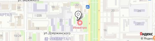 Отдел участковых уполномоченных полиции по делам несовершеннолетних на карте Новомосковска