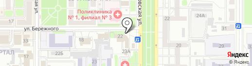 Почта Банк, ПАО на карте Новомосковска