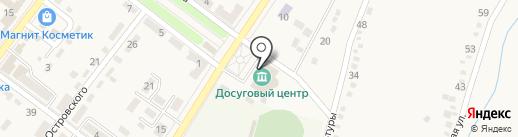 Ахтырская библиотека на карте Ахтырского