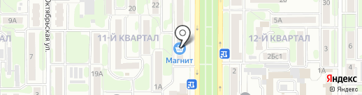 Сбербанк, ПАО на карте Новомосковска