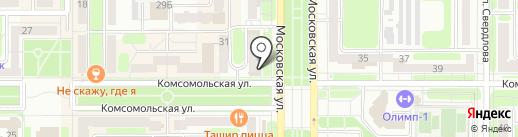 МойВелосипед.рф на карте Новомосковска