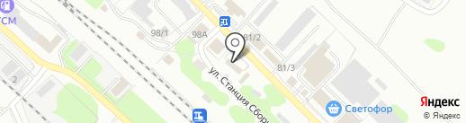Аргумент на карте Новомосковска