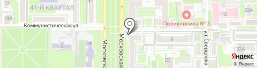 Кухни Мария на карте Новомосковска