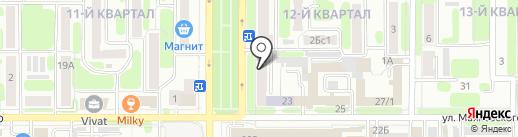 ВЕДИ.Кадастр на карте Новомосковска
