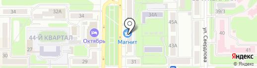 ЕвроБус на карте Новомосковска