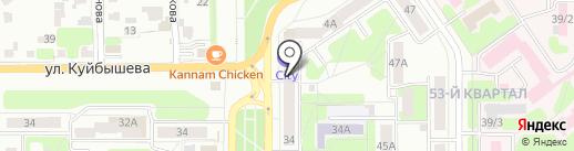 ClayClay.ru на карте Новомосковска