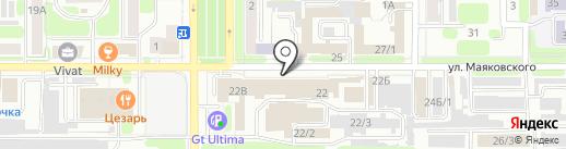 Магазин товаров для сада и огорода на карте Новомосковска