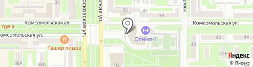 Банкомат, Минбанк, ПАО на карте Новомосковска