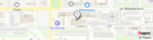ТРЕНД на карте Новомосковска