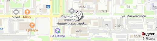 Саморезик.RU на карте Новомосковска