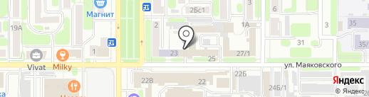 Техно-М на карте Новомосковска