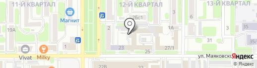 Фирма по продаже и ремонту автостекол на карте Новомосковска