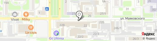 Second Hand на карте Новомосковска