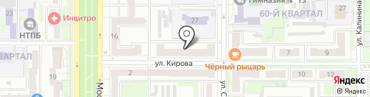 Супер Стар на карте Новомосковска