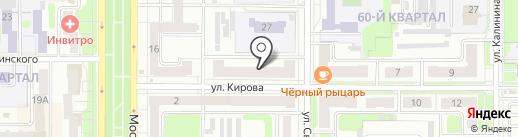 Домфорт на карте Новомосковска