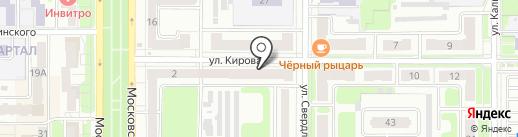 Мир мебели на карте Новомосковска