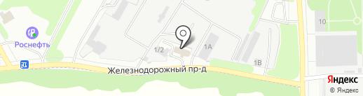 Перфект на карте Донского