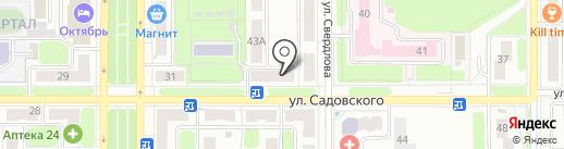 Фармация на карте Новомосковска