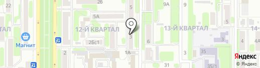 ТеплоРесурс на карте Новомосковска