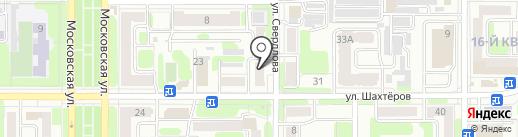 Амур на карте Новомосковска