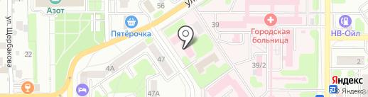 Центр гигиены и эпидемиологии на карте Новомосковска