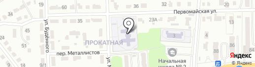 Детский сад №18 на карте Донского