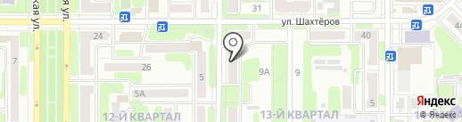 3 аккорда на карте Новомосковска